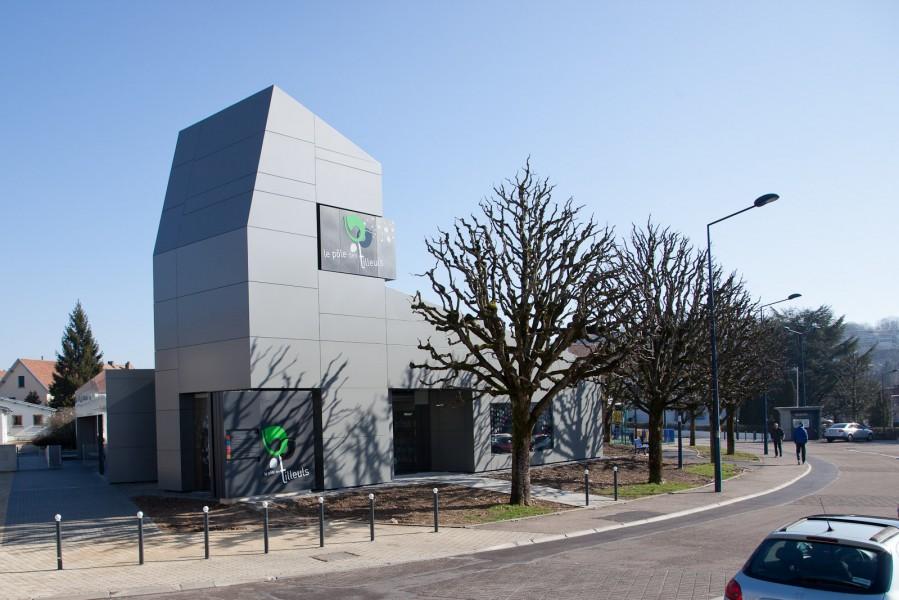 Acodi panneau composite aluminium bardage 3d fa ade for Panneau de facade composite