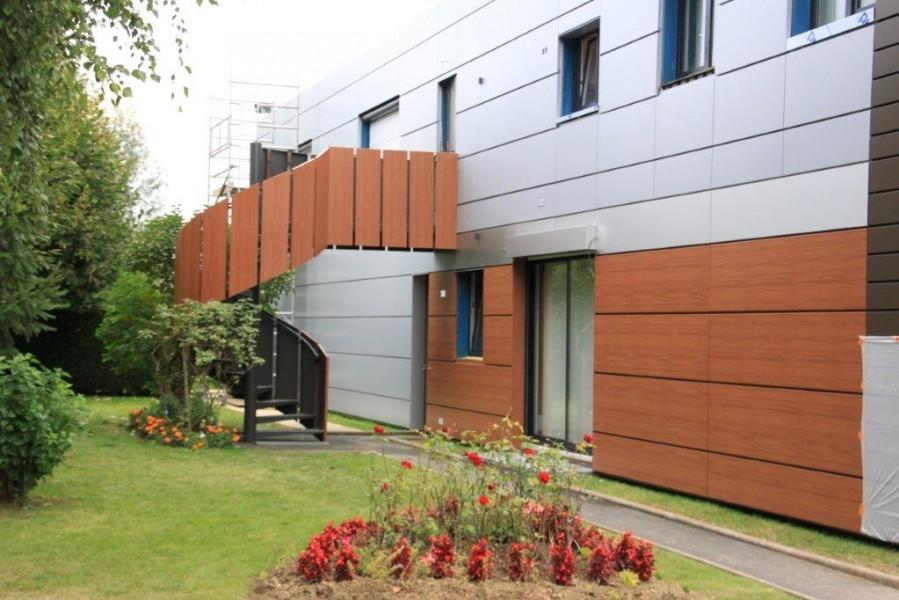 façade composite HPL